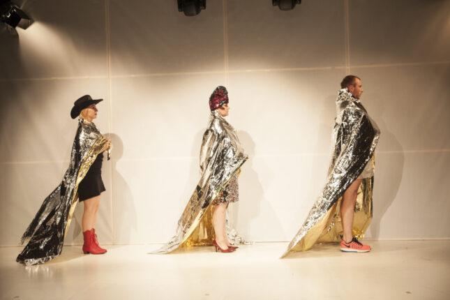 "HOTELOKO movement makers ""Absolutely fabulous dancers"". Fot. Anna Ciupryk"