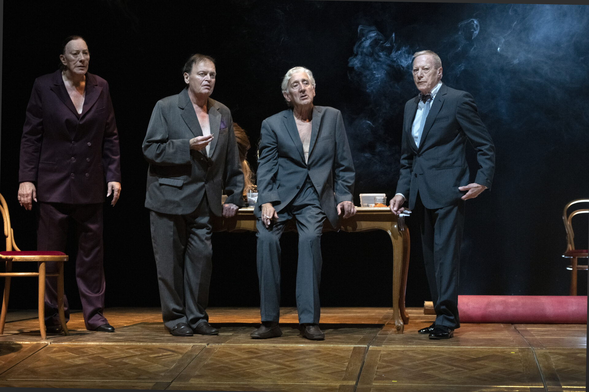 "Frank Van Laecke, Alain Platel, Steven Prengels ""Gardenia – 10 years later"". Fot. Luk Monsaert"