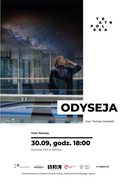 """Zdjęcie: Sanok: Tomasz Ciesielski """"Odyseja"""""""