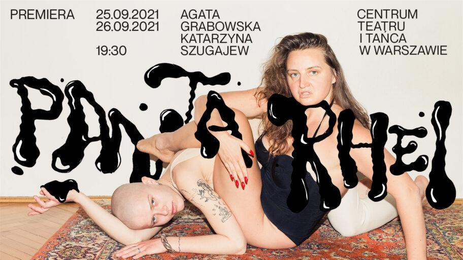 """Zdjęcie: Warszawa/Centrum Teatru i Tańca w Warszawie: Agata Grabowska i Katarzyna Szugajew """"Panta Rhei"""""""