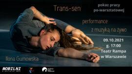 """Zdjęcie: Warszawa: """"Trans-sen"""" – performans z muzyką na żywo"""