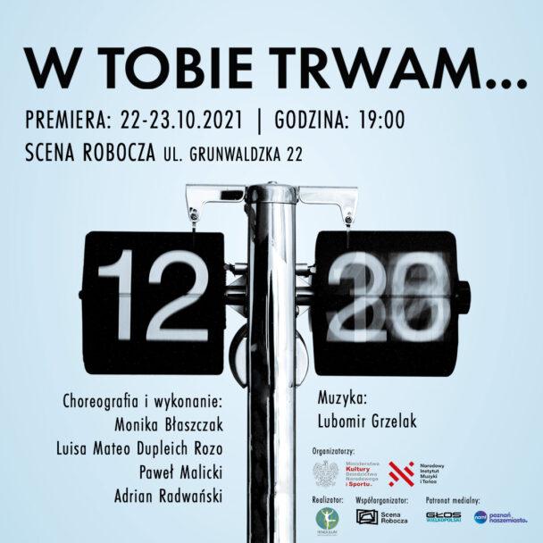 """Zdjęcie: Poznań: Monika Błaszczak, Paweł Malicki, Adrian Radwański, Mateo Dupleich Rozo """"W Tobie trwam…"""""""