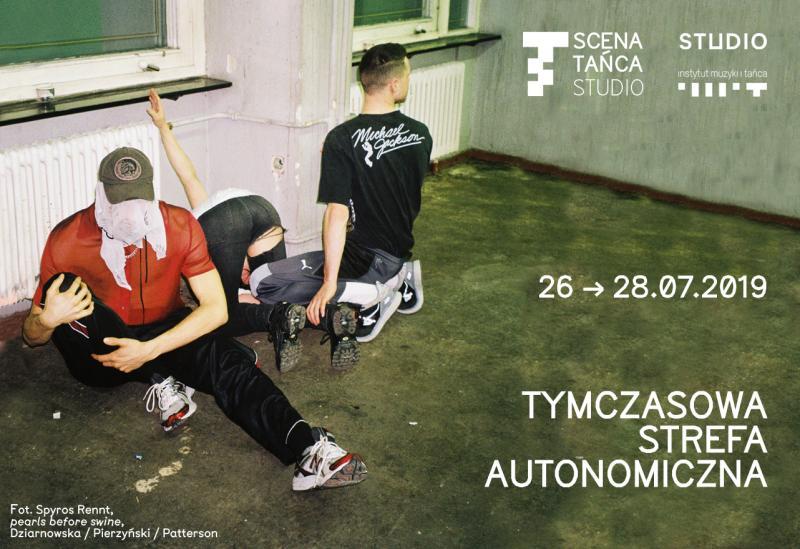 """Zdjęcie: 37. Scena Tańca Studio: """"Tymczasowe Strefy Autonomiczne"""", odsłona """"Tymczasowa Strefa Autonomiczna"""""""