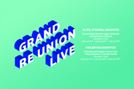 Zdjęcie: Grand re Union LIVE: On Saturday, the April edition entitled Interdependencies will be held