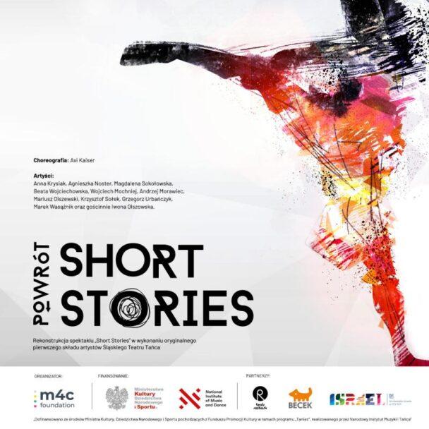 """Zdjęcie: On-line: Do 6 października aktywny """"Short Stories. Powrót"""" w wykonaniu pierwszego składu Śląskiego Teatru Tańca"""
