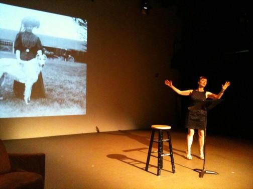 """Zdjęcie: Lublin/XX Konfrontacje Teatralne: Holly Hughes """"Clit Notes"""""""