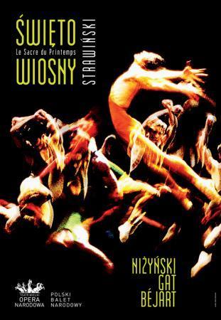 """Zdjęcie: Warszawa/Teatr Wielki: Polski Balet Narodowy """"Święto wiosny"""" – chor. Niżyński, Gat, Béjart"""