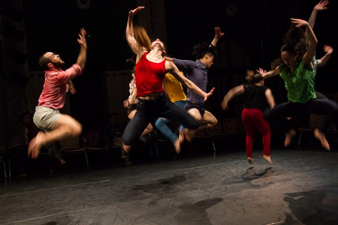 """Zdjęcie: Bytom/Międzynarodowy Dzień Tańca 2015:  """"Dziedziniec Tańca"""""""