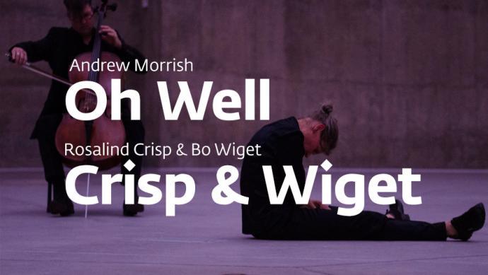 """Zdjęcie: Poznań/Platform East: Andrew Morrish """"Oh Well"""" Część 19 i Rosalind Crisp & Bo Wiget """"Crisp & Wiget"""""""