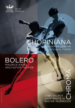 """Zdjęcie: Warszawa: Polski Balet Narodowy – wieczór baletowy """"Chopiniana/ Bolero/ Chroma"""" (Fokin/Pastor/McGregor)"""