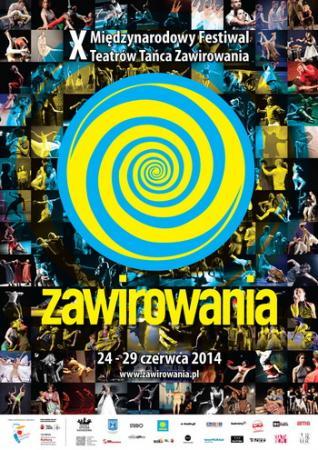 Zdjęcie: Warszawa: X Międzynarodowy Festiwal Teatrów Tańca Zawirowania
