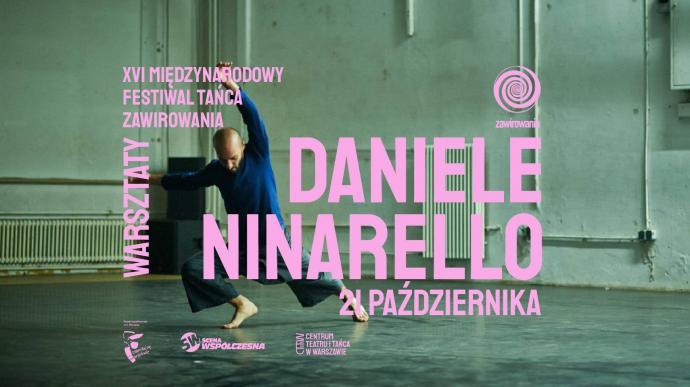 Zdjęcie: Warszawa/XVI Międzynarodowy Festiwal Tańca ZAWIROWANIA: Masterclass z Daniele Ninarello