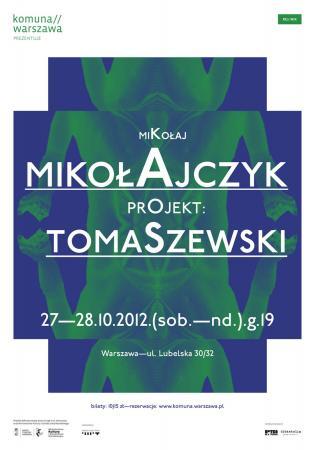 Zdjęcie: Warszawa: Mikołaj Mikołajczyk – RE//MIX Henryk Tomaszewski