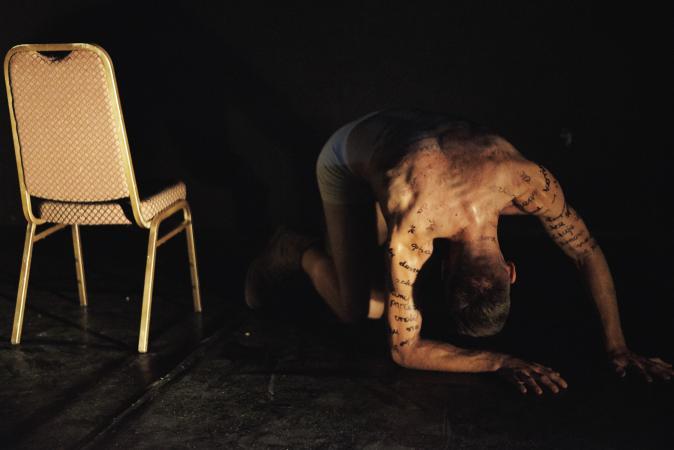 """Zdjęcie: Warszawa/Scena Tańca Studio III: Piotr Mateusz Wach """"Ryszard. Ciało z gniewu"""""""