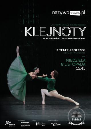 """Zdjęcie: Kina w Polsce/Bolshoi Ballet Live 2015-16: """"Klejnoty"""" – chor. Georges Balanchine (retransmisja)"""