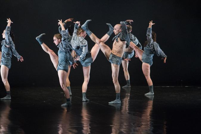 "Zdjęcie: Białystok/XII Festiwal ""Kalejdoskop"": Teatr Rozbark ""This is not a love song"" – chor. Ivgi & Greben"