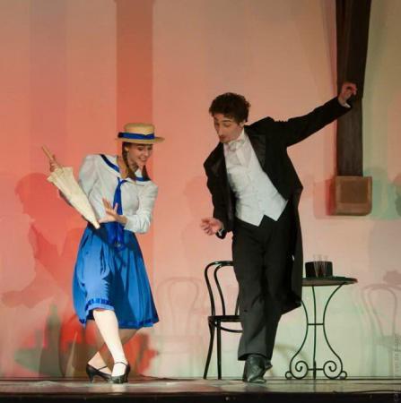 """Zdjęcie: Kraków/Scena dla tańca 2013/Niedziele dla tańca: Balet Dworski Cracovia Danza """"W starym kinie"""""""
