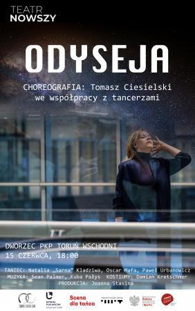Zdjęcie: Toruń/Scena dla tańca 2021: Tomasz Ciesielski Odyseja