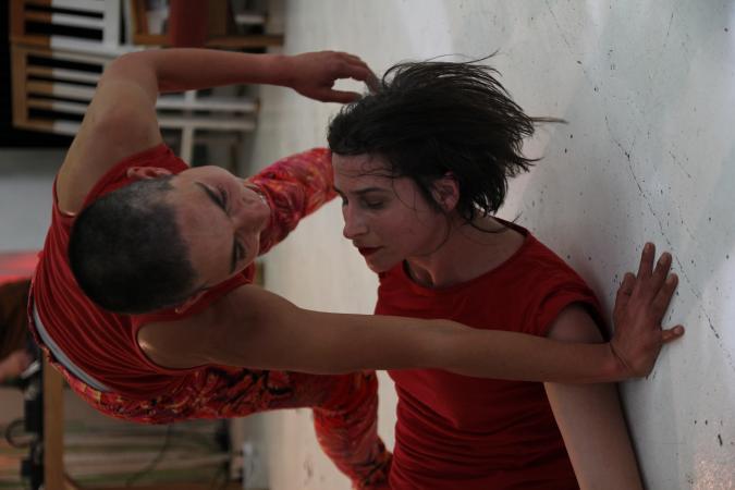 """Zdjęcie: Kraków/Festiwal KRoki 2014: Małgorzata Haduch """"Help Me to Crash"""""""