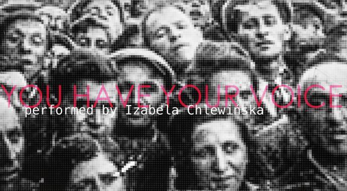"""Zdjęcie: Warszawa/Scena Tańca Studio III: Izabela Chlewińska """"You have your voice"""""""