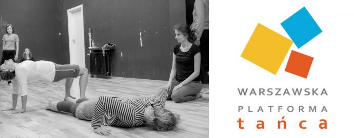 """Zdjęcie: Warszawska Platforma Tańca 2016: Warsztaty """"Dynamika zmiany – Improwizacja & Kompozycja"""". Prowadzenie: Małgorzata Gajdemska"""