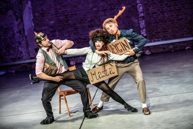 Zdjęcie: Wrocław/Wrocławski Teatr Pantomimy: Tiki i inne zabawy  chor. Dominika Knapik