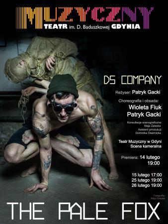 """Zdjęcie: Gdynia/Teatr Muzyczny: DzikiStyl Company """"The Pale Fox"""" – reż. Patryk Gacki, chor. Wioleta Fiuk i Patryk Gacki"""