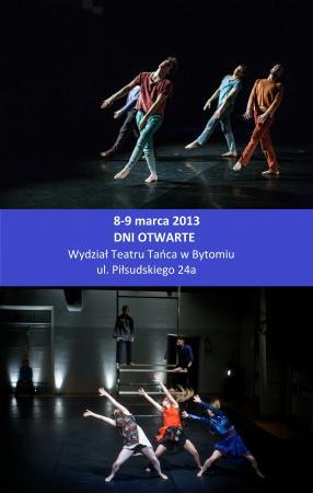 Zdjęcie: Bytom: Dni otwarte Wydziału Teatru Tańca