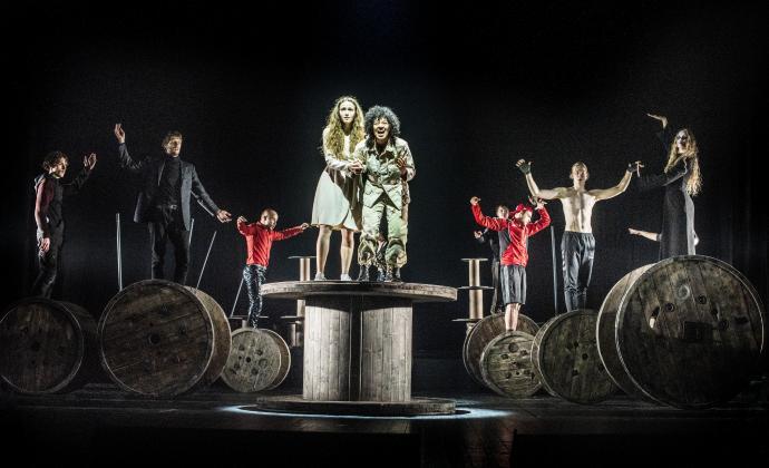 Zdjęcie: Gdańsk/XXV Festiwal Szekspirowski: Otello  reż. Oskaras Koršunovas