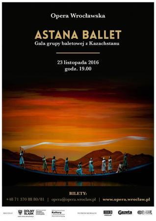 Zdjęcie: Wrocław/Opera Wrocławska: Astana Ballet – występ gościnny