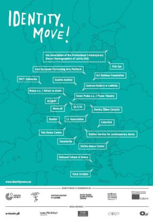 """Zdjęcie: """"IDENTITY.MOVE!"""" – platforma badawcza tańca współczesnego: sympozjum w Lublinie"""