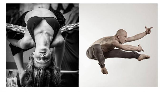 Zdjęcie: Burdąg: Gosia Piastowska i Szymon Osiński – warsztaty (współczesny, modern, joga)