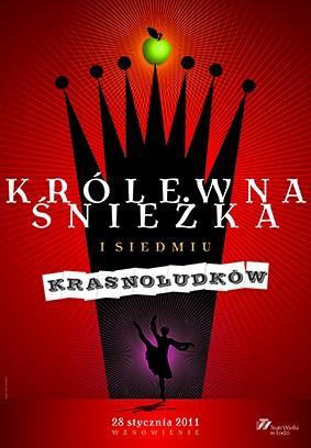 """Zdjęcie: Łódź/Teatr Wielki w Łodzi: """"Królewna Śnieżka i siedmiu krasnoludków"""" – chor. Witold Borkowski"""