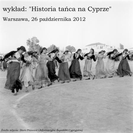 """Zdjęcie: Warszawa: Prof. Alkis Raftis """"Historia tańca na Cyprze"""" – wykład"""