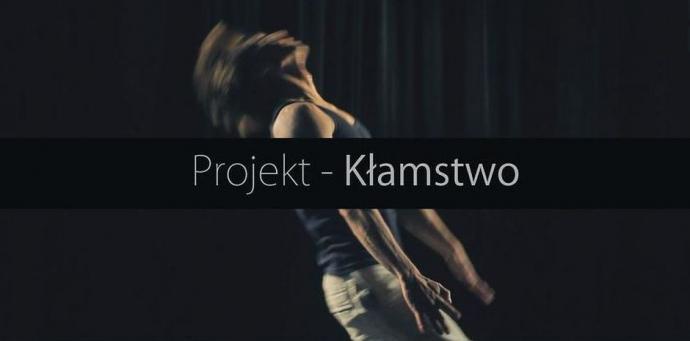 """Zdjęcie: Wrocław/Scena Tańca Capitol: Marta Hichel, Jan Nykiel """"Projekt-kłamstwo"""""""
