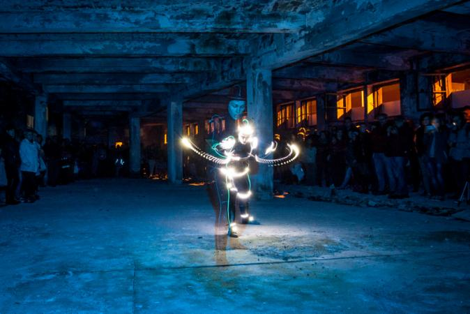 """Zdjęcie: Lublin/X Festiwal Kontestacje: Patryk Lichota """"Lightskin"""""""