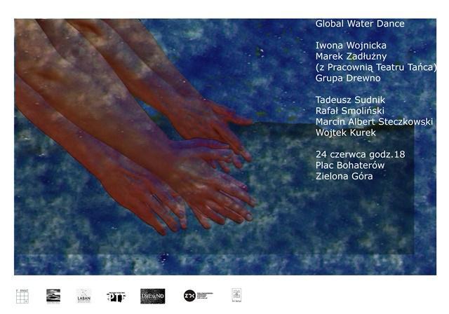 """Zdjęcie: Zielona Góra: Iwona Wojnicka i Marek Zadłużny """"Global Water Dances"""""""