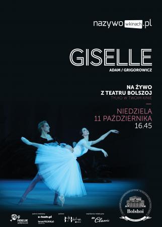 """Zdjęcie: Kina w Polsce/Bolshoi Ballet Live 2015-16: """"Giselle"""" – chor. Adolphe Adam/Jurij Gregorowicz"""