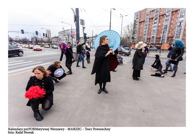 Zdjęcie: Warszawa/Kalendarz perFORMatywnej Warszawy: Performans taneczny na Ochocie