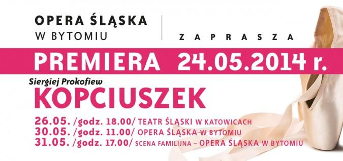 """Zdjęcie: Katowice: Opera Śląska """"Kopciuszek"""" – chor. Anna Majer"""