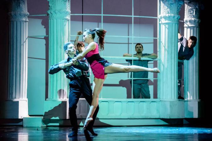 """Zdjęcie: Tarnów/Festiwal Scena Otwarta 2019/Polska Sieć Tańca 2019: Kielecki Teatr Tańca """"Cudowny Mandaryn"""", """"Drewniany książę""""*"""