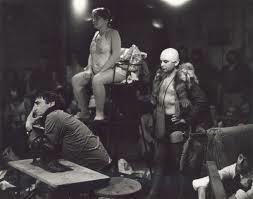 """Zdjęcie: Gdańsk/""""Kantor_Tropy"""": """"Kurka wodna"""" –  zapis spektaklu Tadeusza Kantora (Edynburg, 1972) i spotkanie z Richardem Demarco"""
