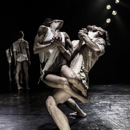 """Zdjęcie: Lublin/Międzynarodowy Dzień Tańca 2017: Kibbutz Contemporary Dance Company """"Horses in the Sky"""""""