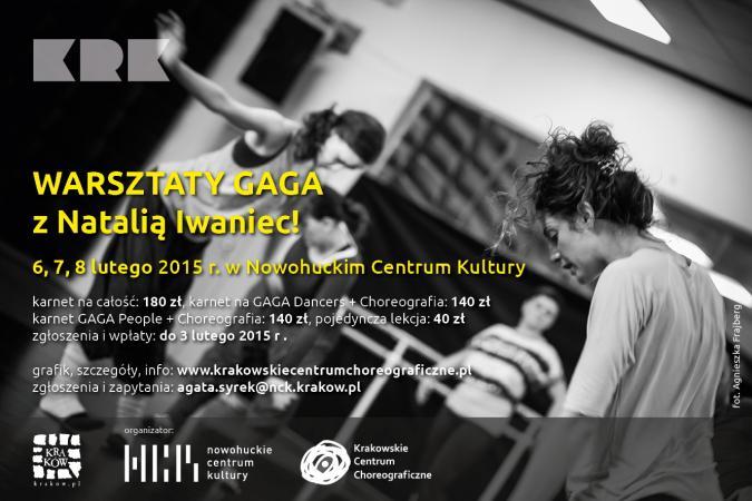 Zdjęcie: Kraków/KCC: Warsztaty GaGa z Natalią Iwaniec