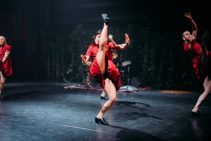 Zdjęcie: Kraków/BalletOFFFestival 2016: Chloé Beillevaire i Agnieszka Rybak – warsztaty