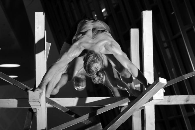 """Zdjęcie: Warszawa/Scena Tańca Studio 2017/III: Hygin Delimat """"House Beating"""""""