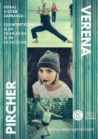 """Zdjęcie: Warszawa/Oddaj Ciężar Studio: Verena Pircher """"Countertechnique"""" – warsztaty"""