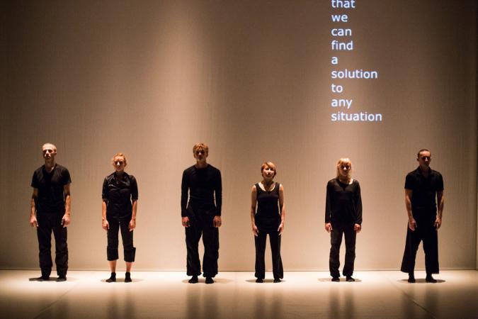 "Zdjęcie: Tarnów/Festiwal Scena Otwarta 2019/Polska Sieć Tańca 2019: Lubelski Teatr Tańca ""Stalking Paradise"""