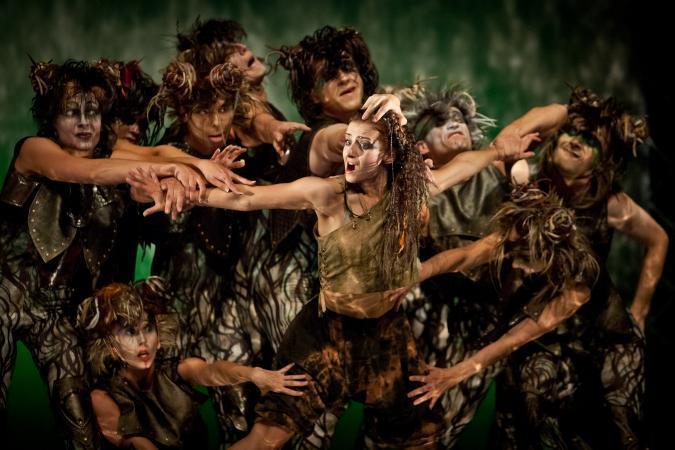 """Zdjęcie: Warszawa/Specjalna Edycja Festiwalu Korczak: Wrocławski Teatr Pantomimy """"Mikrokosmos"""""""
