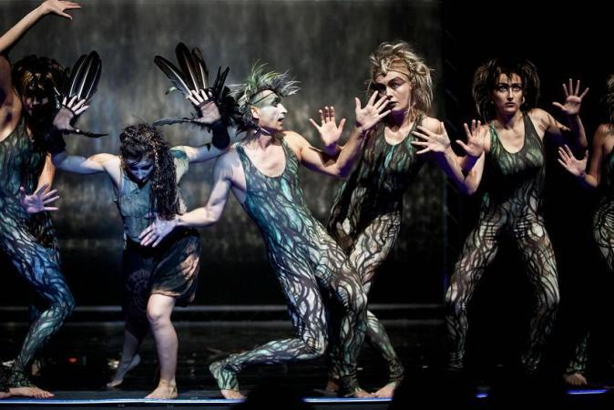 """Zdjęcie: Gliwice/Dziecięce Spotkania Teatralne: Wrocławski Teatr Pantomimy """"Mikrokosmos"""""""